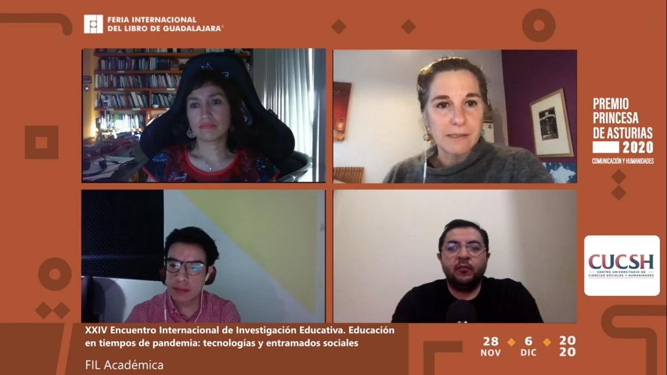 En la FIL, analizan retos de la educación ante la pandemia del COVID-19