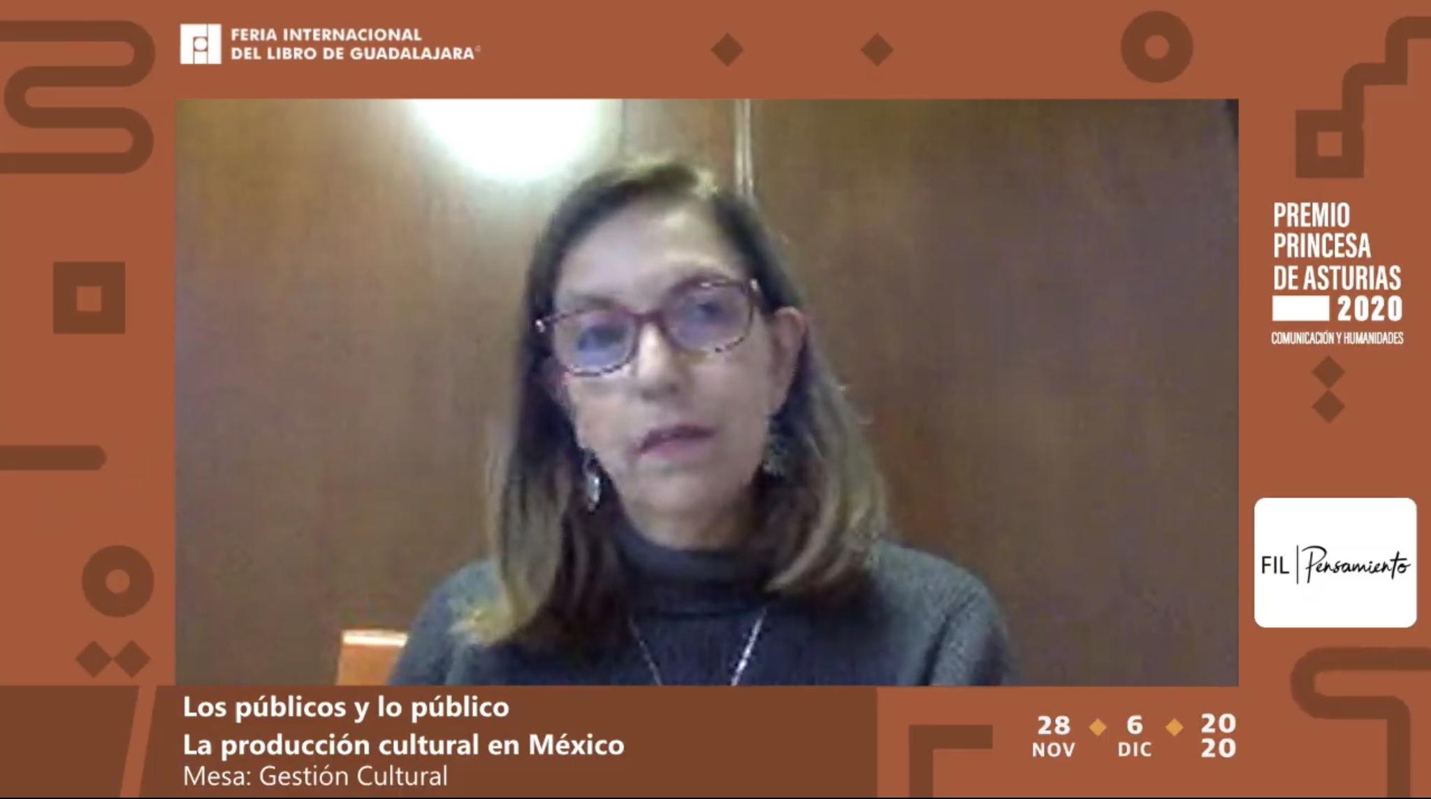 """En el foro """"Los públicos y lo público"""" del programa FIL Pensamiento, discutieron la manera en que se deben adaptar las políticas culturales en la pandemia"""