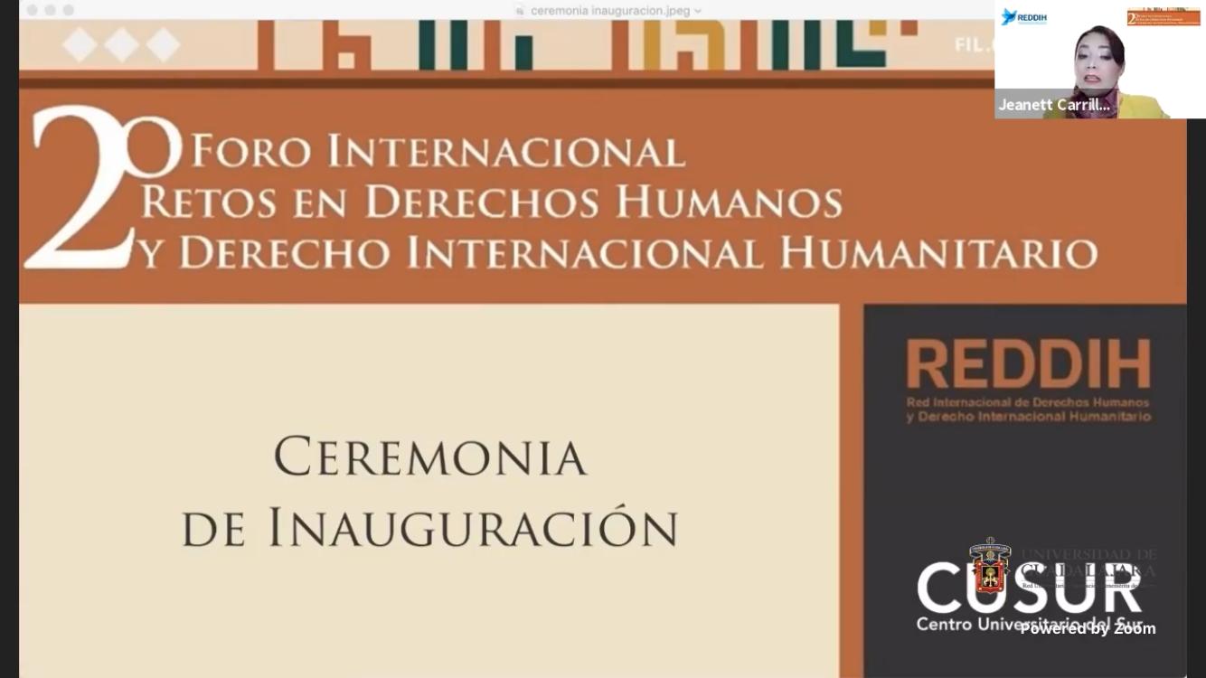 Especialistas en salud y derechos humanos abordan los desafíos para respetar las garantías universales, durante la FIL 34