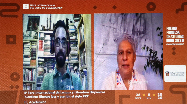 El dramaturgo habla de sus obras en FIL virtual