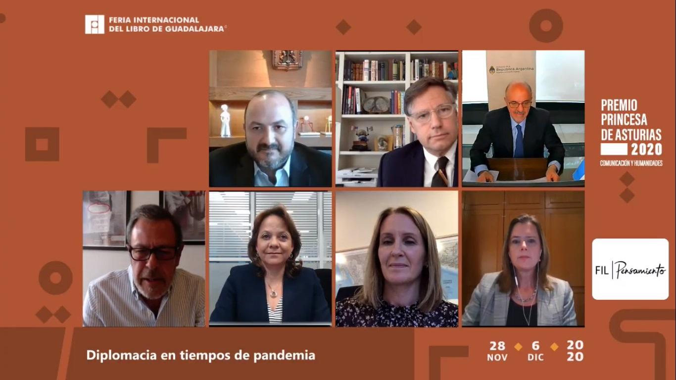 Embajador de Estados Unidos en México, Christopher Landau, dijo que la diplomacia y los agentes multilaterales no cumplieron su objetivo de parar la pandemia