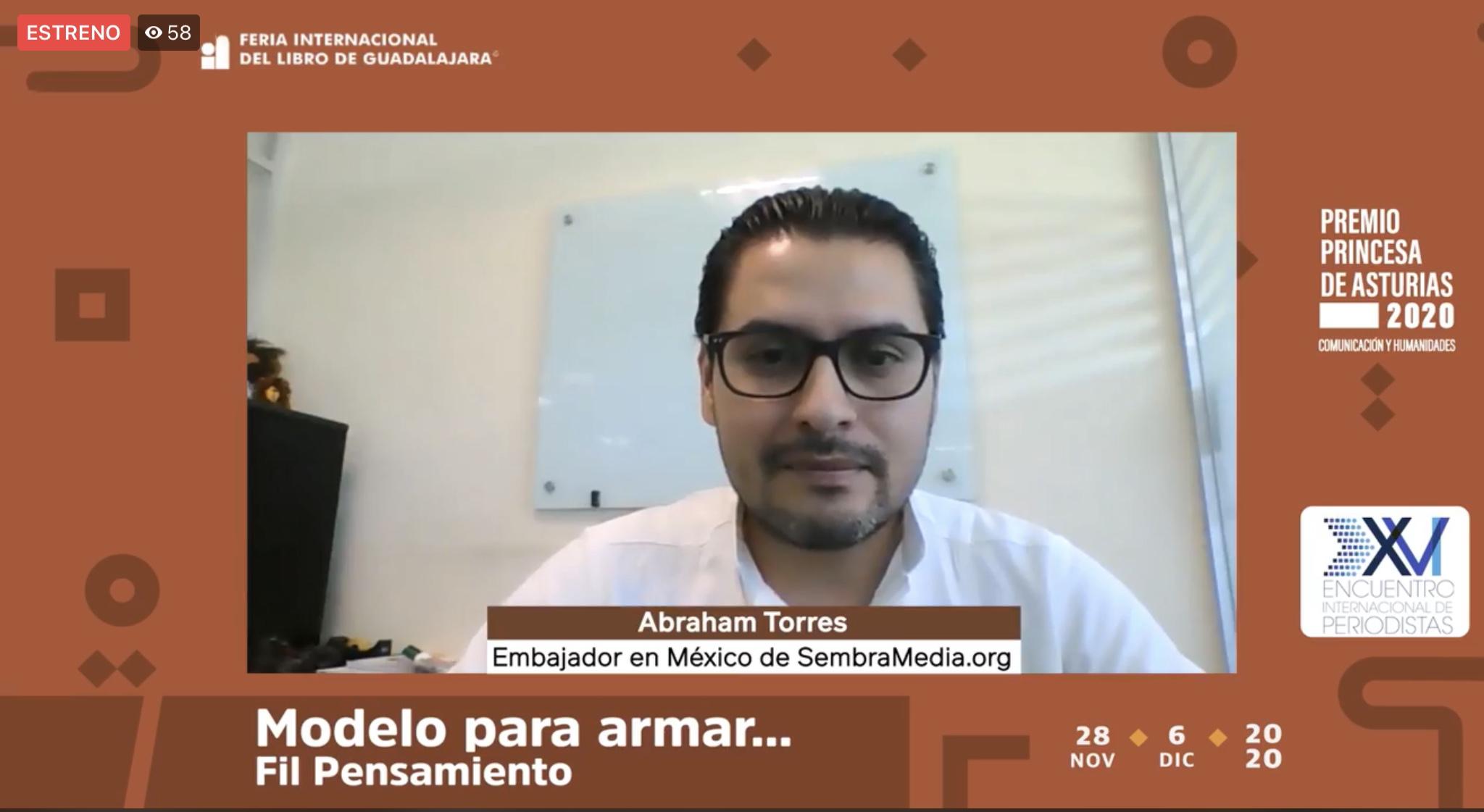 """Inicia Encuentro Internacional de Periodistas con charla """"Modelo para armar: periodismo y medios digitales"""", en la FIL"""