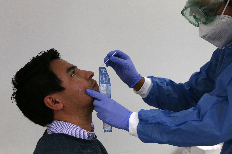Desde el pasado jueves 8 de diciembre, se realiza la capacitación para la toma de muestras y el procesamiento de las pruebas rápidas