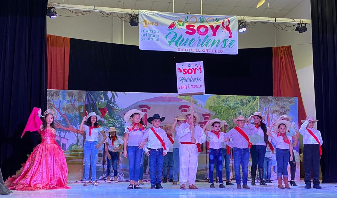 """María Paz Sánchez crea el proyecto """"Soy huertense"""", que derivó en festival cultural en este municipio de la Costa Sur"""