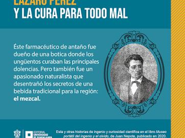 Juan Nepote presenta libro sobre la vida y obra de curiosos personajes, editado por la Editorial Universitaria de la UdeG