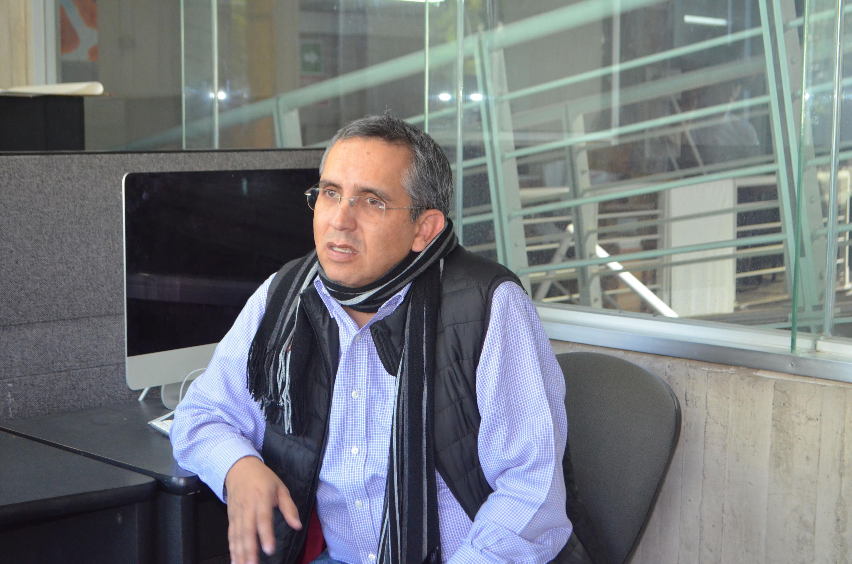 El doctor Arturo Gleason Espíndola, profesor investigador del CUAAD, especialista en agua y sustentabilidad aplicados al urbanismo y la arquitectura.