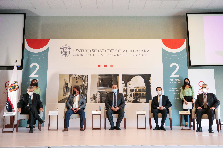 El Rector Francisco Javier González Madariaga rinde su segundo Informe de actividades