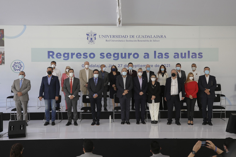 Presentan el Plan de Regreso Seguro, una guía de protocolos para salvaguardar la integridad de todos los miembros de la comunidad universitaria