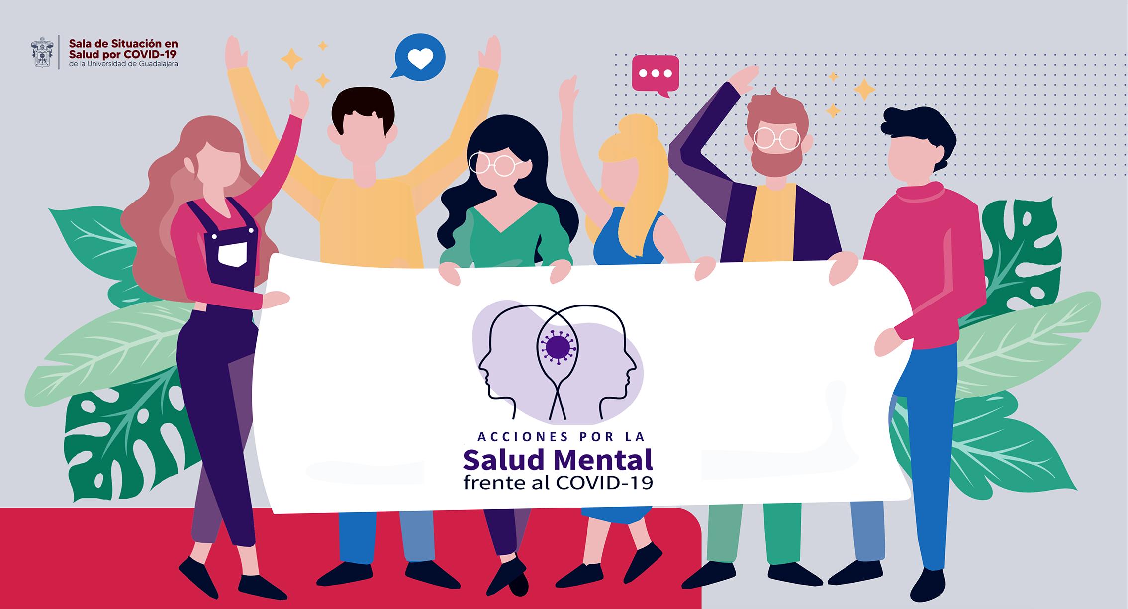 Destaca la evaluación de la salud mental de la comunidad universitaria