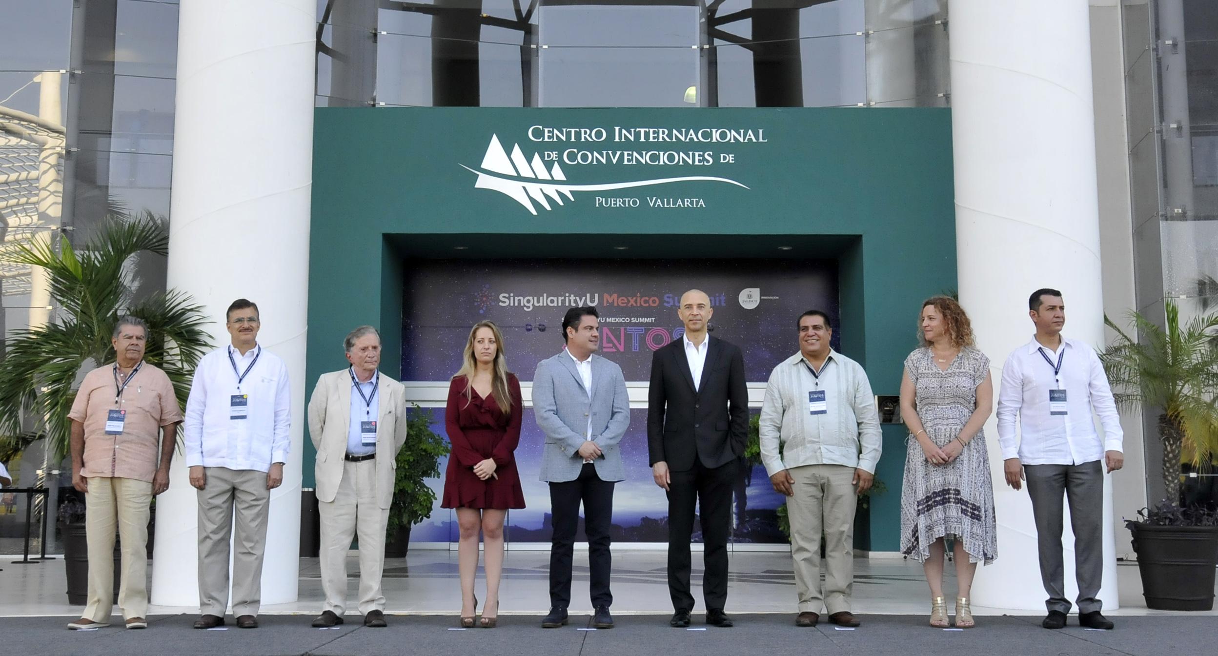 Inauguración del SingularityU Summit México en Jalisco, organizado por Singularity University