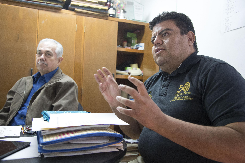 Director Coral y Musical del ballet, José Juan Ávila Guerrero, en entrevista.