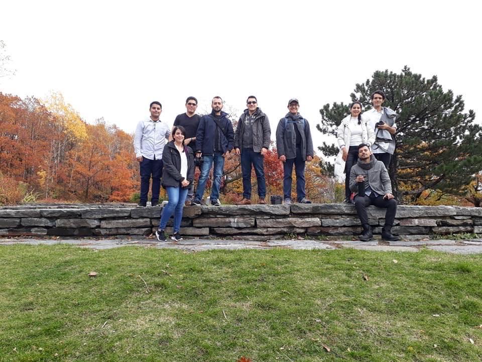 Docentes y estudiantes de maestría y licenciatura han participado en talleres en Canadá y Japón