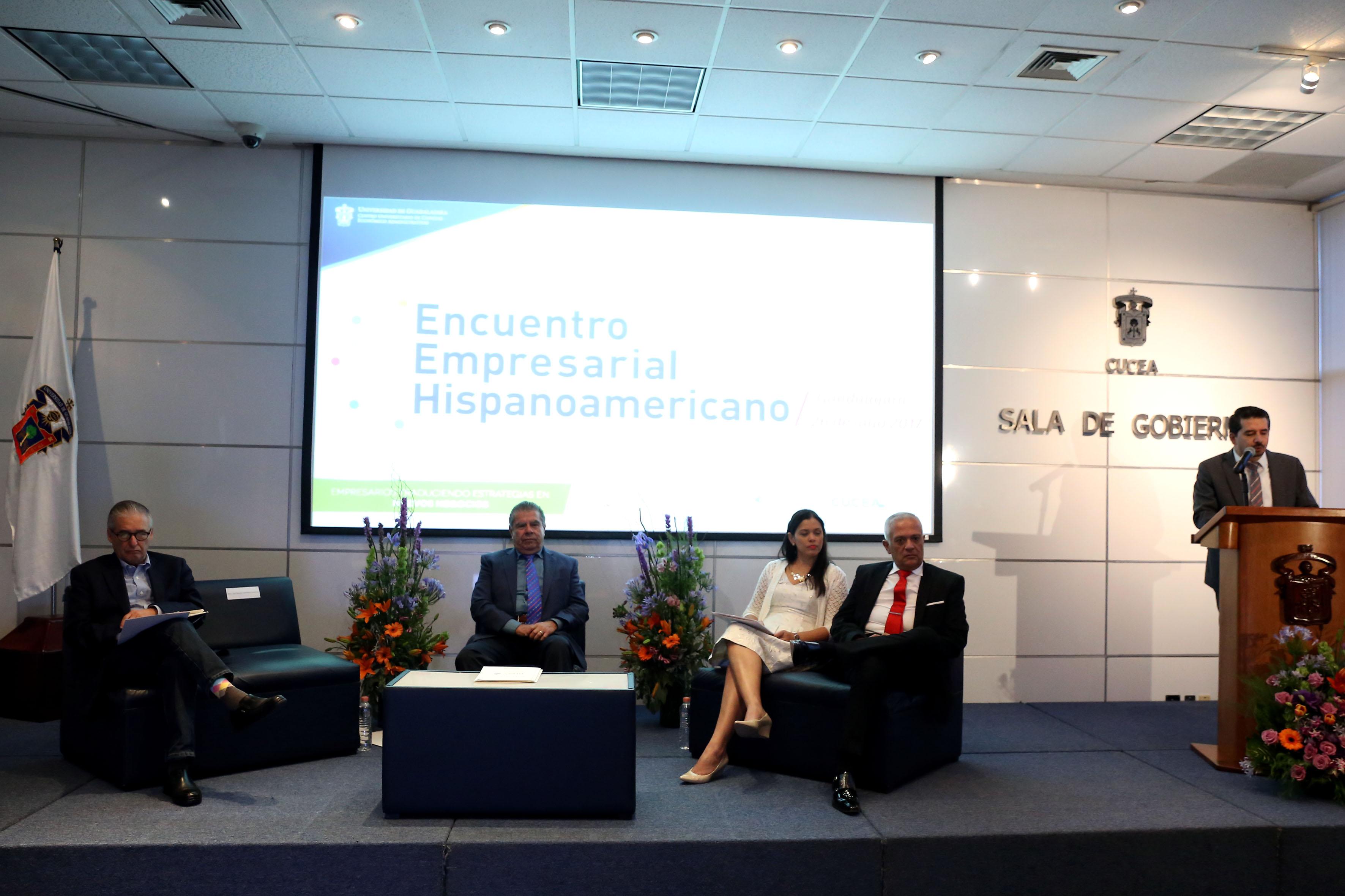 Encuentro Empresarial Hispanoamericano en  CUCEA