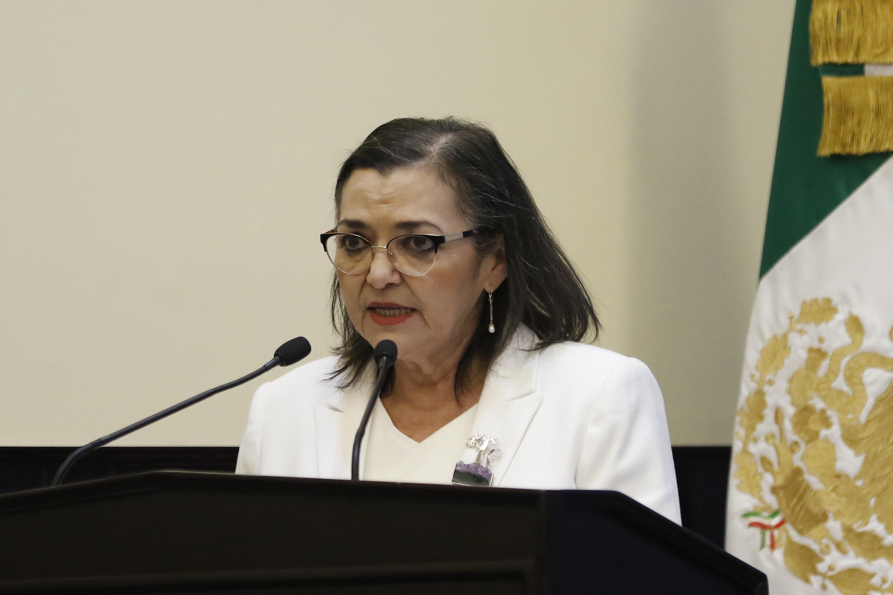 tora Ruth Padilla Muñoz, presentado su informe de actividades 2016