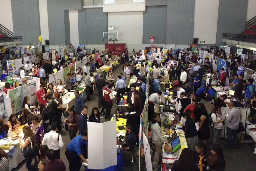 XI Concurso Latinoamericano de Proyectos de Cómputo Infomatrix, con sede en la Universidad Autónoma de Guadalajara.