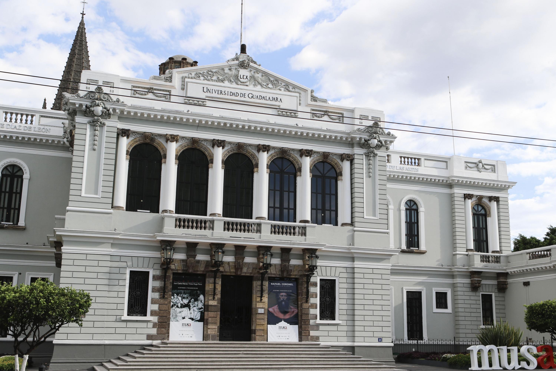 Edificio del Museo de las artes de la Universidad de Guadalajara (MUSA)