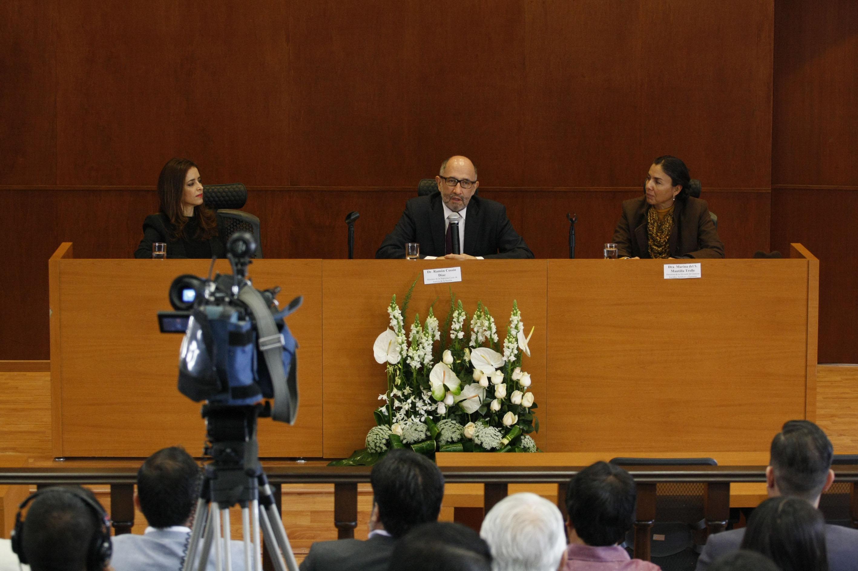 En el uso de la voz el doctor José Ramón Cossío Díaz, ministro de la Suprema Corte de Justicia de la Nación