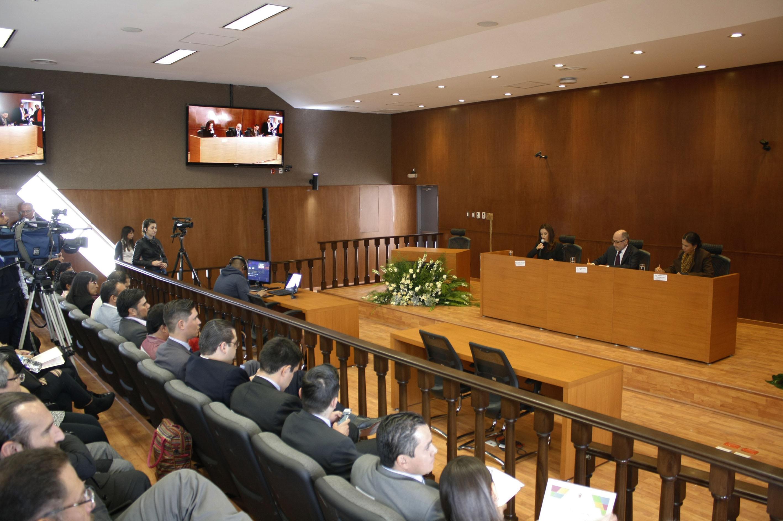 Inauguración de la Sala de Juicios Orales en el Centro Universitario de Tonalá