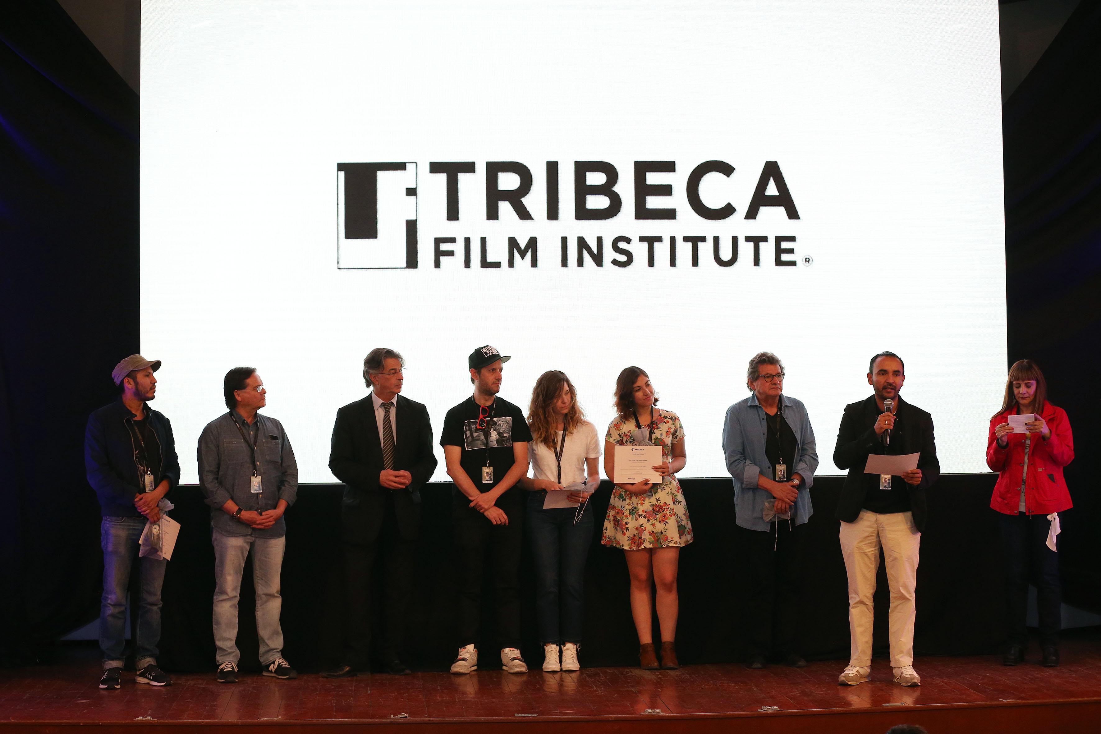 Entrega de premios, realizada en el auditorio de la Alianza Francesa, en el marco del Festival Internacional de Cine en Guadalajara (FICG 32).