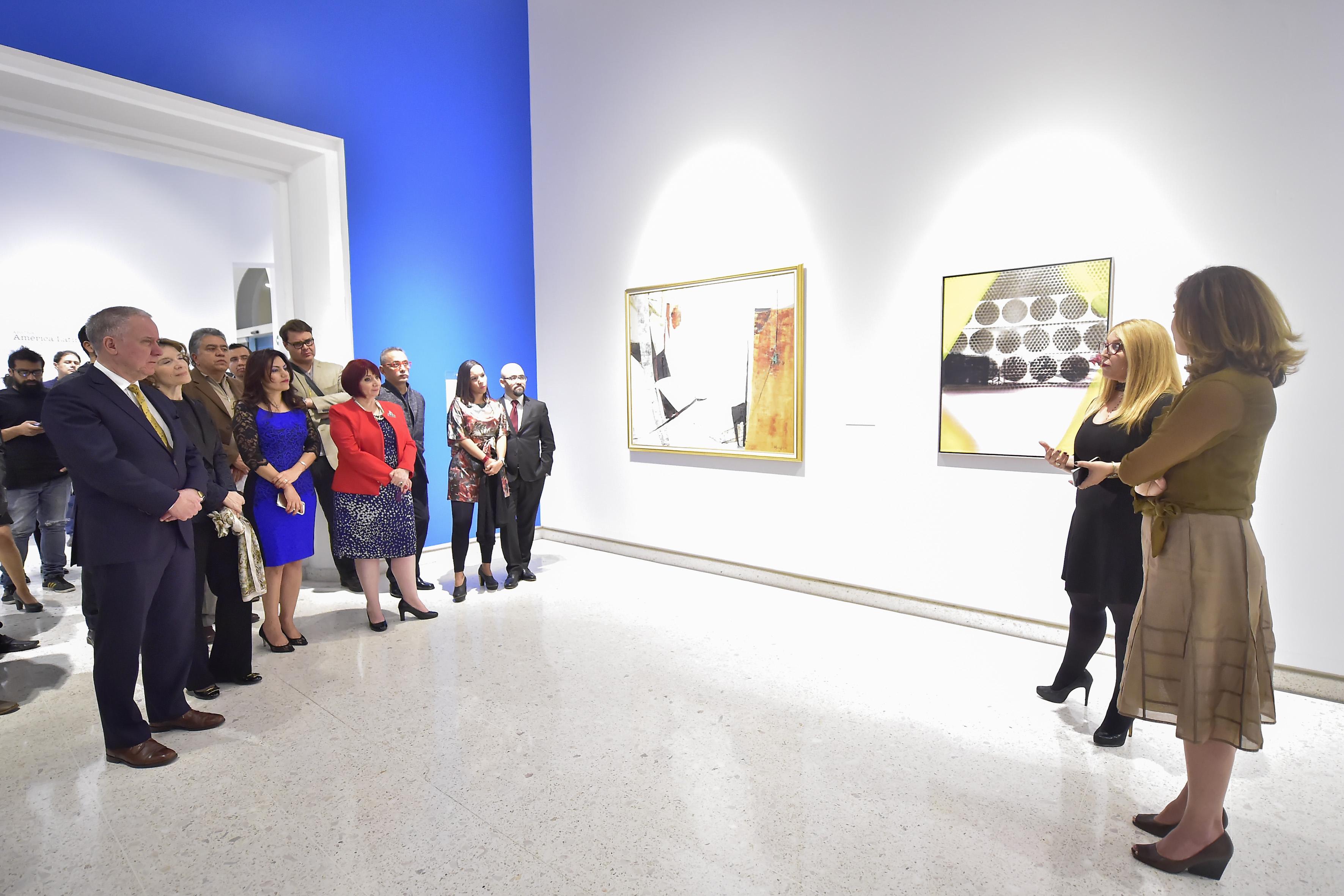 Exposicion en el museo de las artes