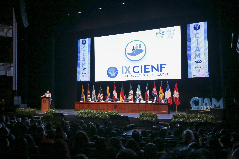 Imagen del presidium en la clausura del CIAM 2020