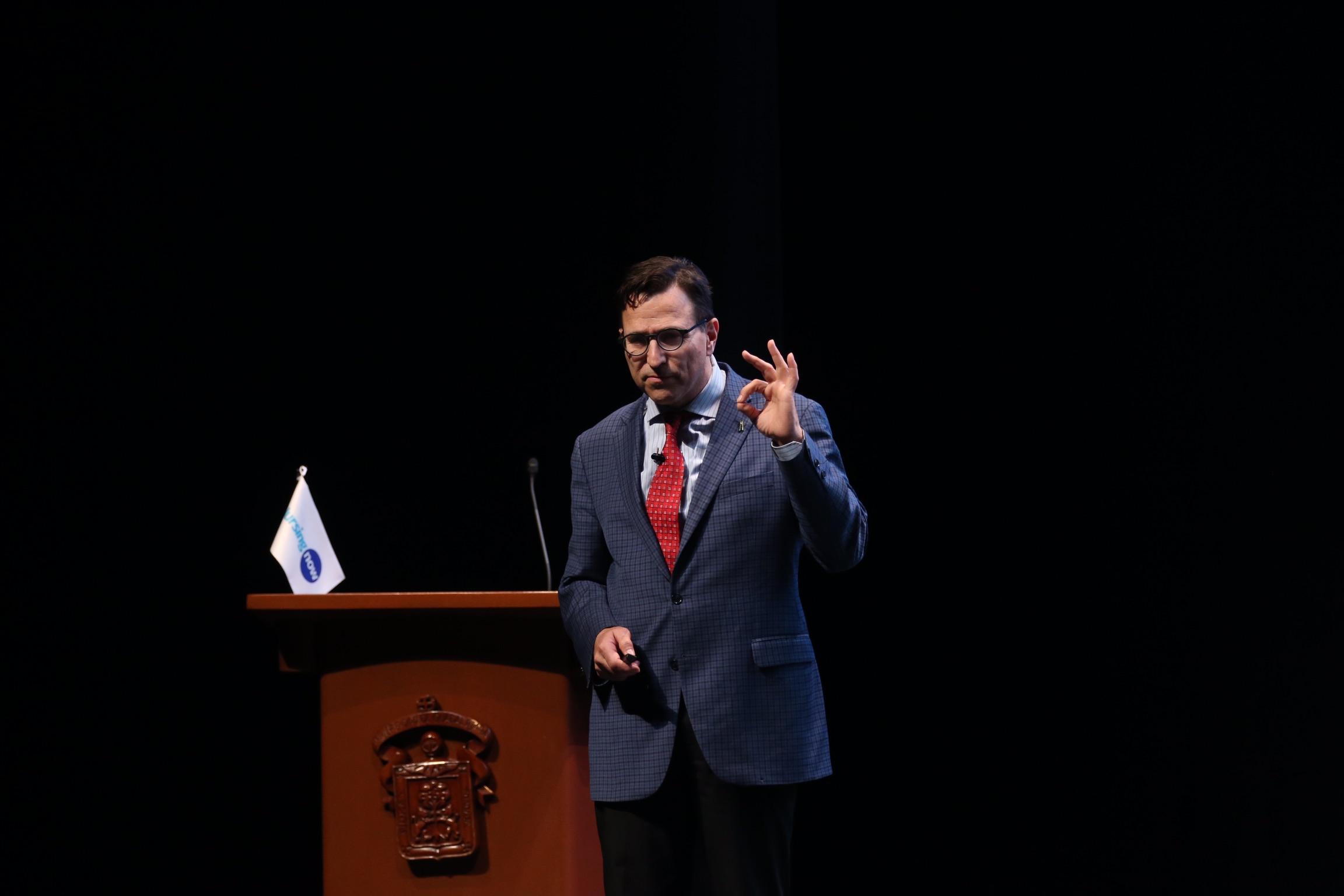 El doctor Paul Barach, especialista en seguridad del paciente y profesor clínico en escuela de Medicina de Estados Unidos