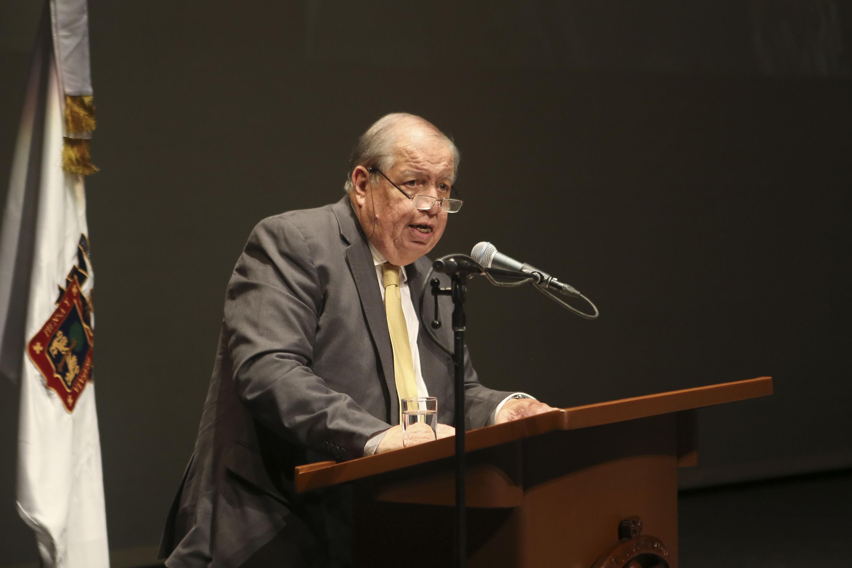 El Rector del CUCSH, doctor Juan Manuel Durán Juárez