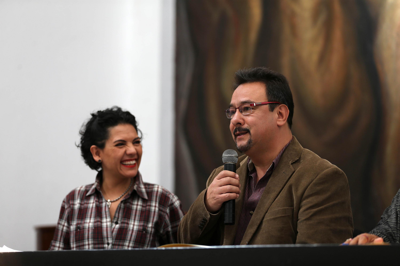 Habla el jefe de la Unidad de Comunidade Indígenas de la UdeG, José Claudio Carrillo Navarro