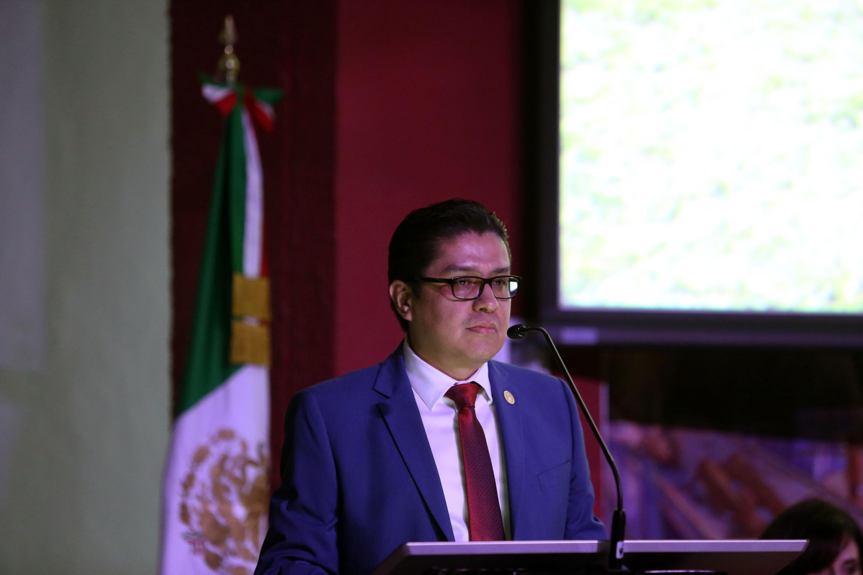 El rector del CUCS, doctor José Francisco Muñoz Valle