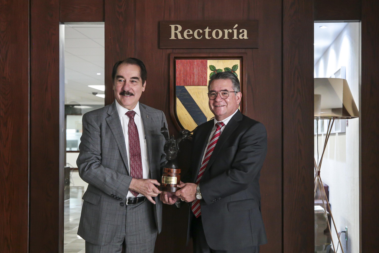El rector de la UP y el rector de la UAG