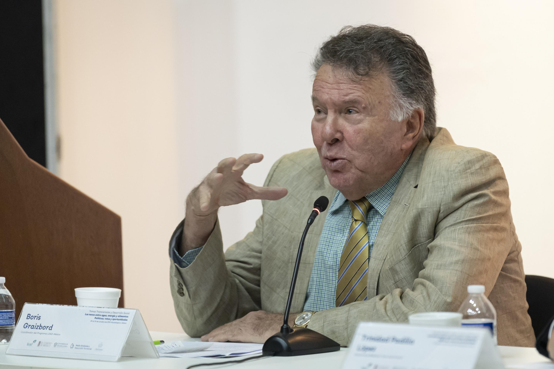 El Coordinador del Programa LEAD-México, profesor Boris Graizbord