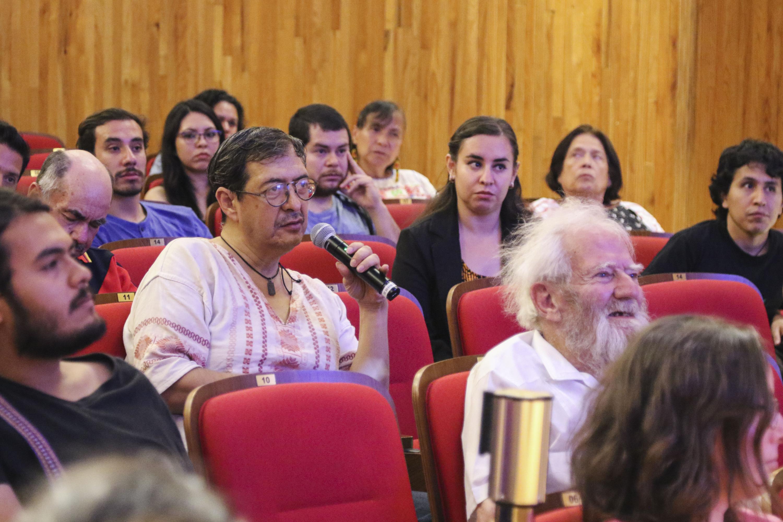 El público realiza preguntas sobre la ciudad de Teotihuacán, una metrópoli excepcional de Mesoamérica