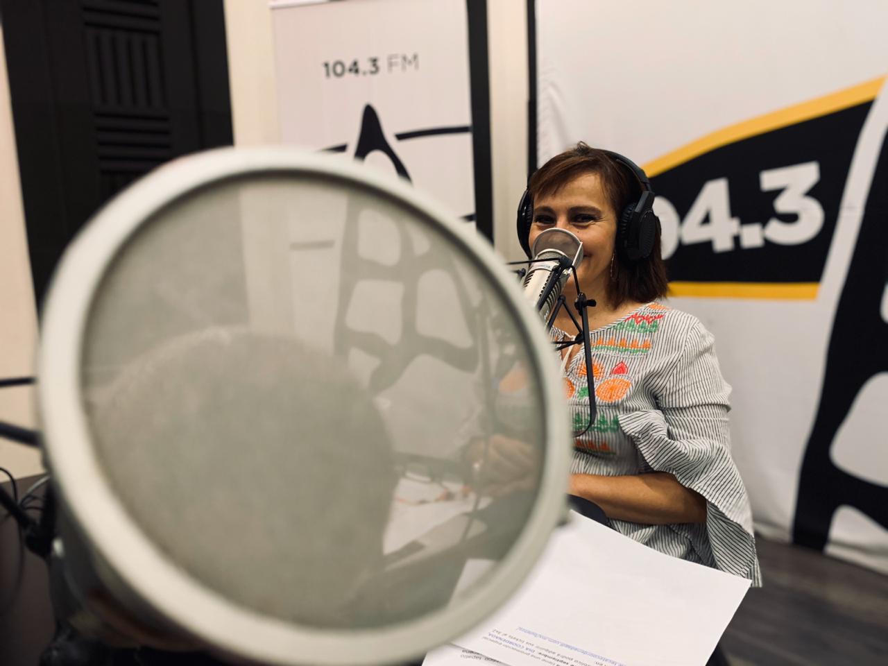 Julieta Maron, la directora de Radio UDG