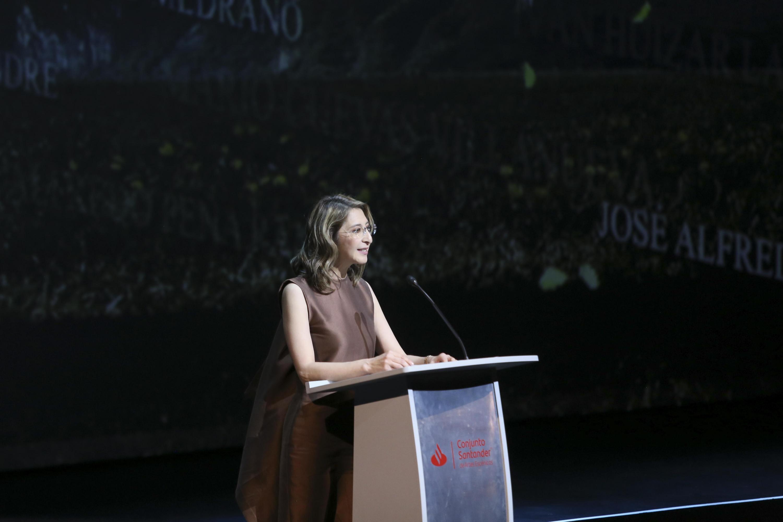 En su discurso Mara Robles