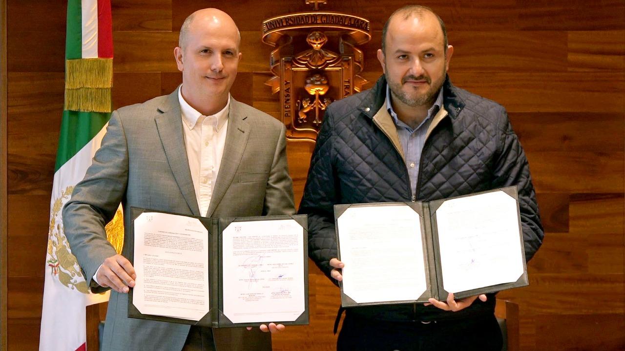 Convenio firmado de colaboración con el Instituto de Información, Estadística y Geografía de Jalisco (IIEG) y la Universidad de Guadalajara (UdeG)
