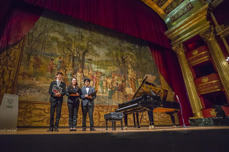 Imagen del Concurso Internacional de Piano el año pasado en el Paraninfo UdeG