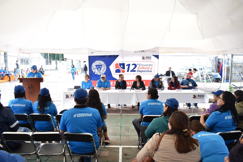 Ceremonia del Encuentro Cultural y Deportivo de UDGVirtual por sus 25 años de aniversario