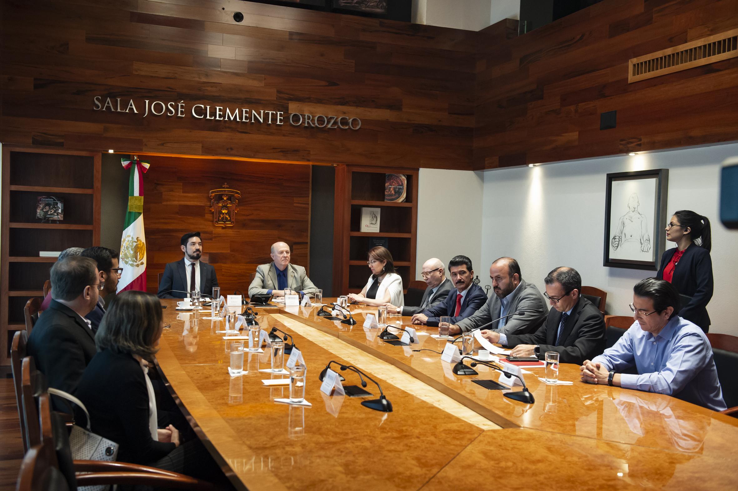 Renovación de convenio entre La Universidad de Guadalajara  (UdeG) y el Instituto Metropolitano de Planeación de la Zona Metropolitana de Guadalajara (Imeplan)