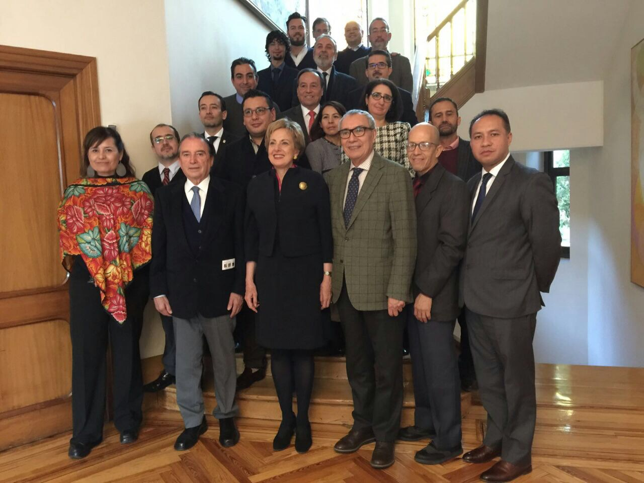 Delegación de académicos de la Universidad de Guadalajara que participó en el  Congreso Internacional del Centro Latinoamericano de Administración para el Desarrollo (CLAD) 2017