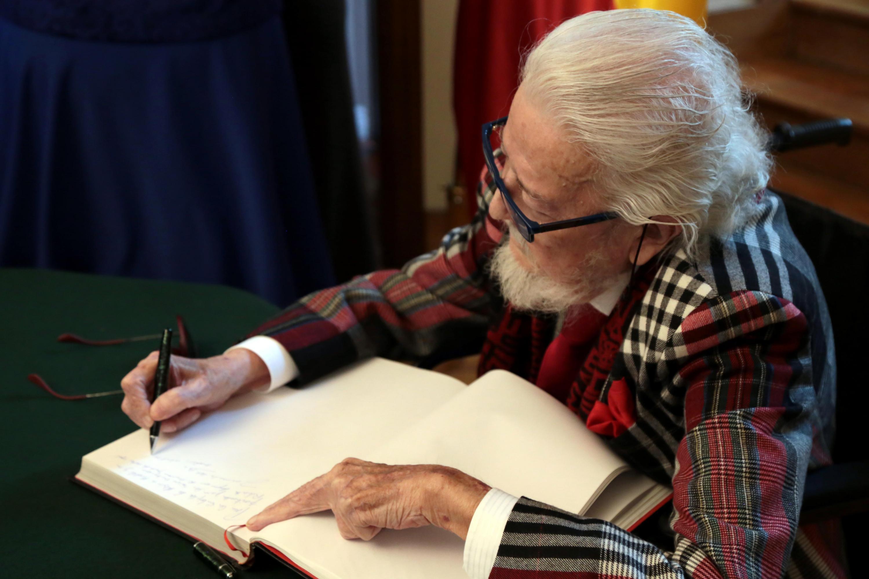 Escritor Fernando del Paso