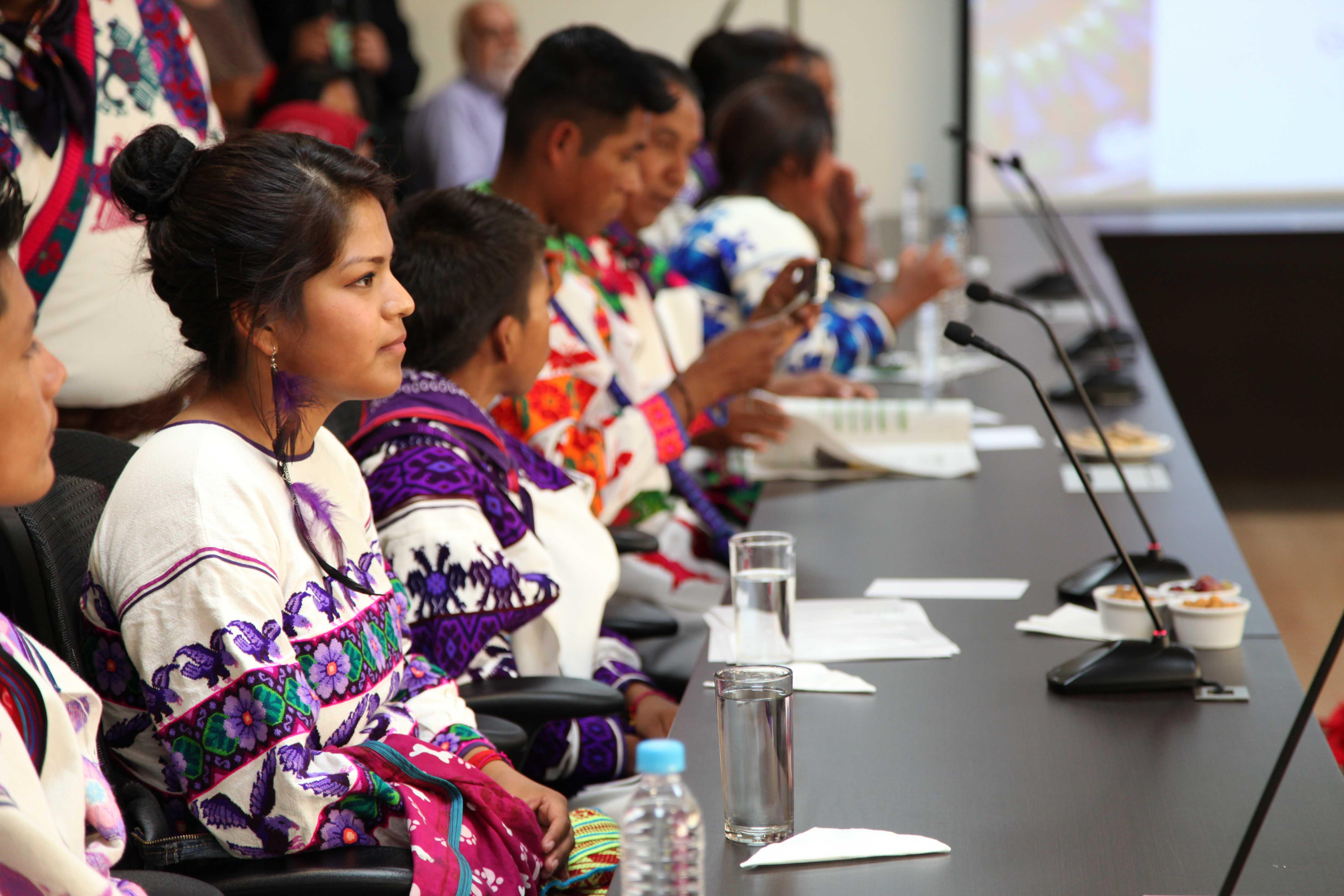 El Rector General tuvo una reunión con ellos. La comunidad indígena tiene interés en contar con una segunda preparatoria