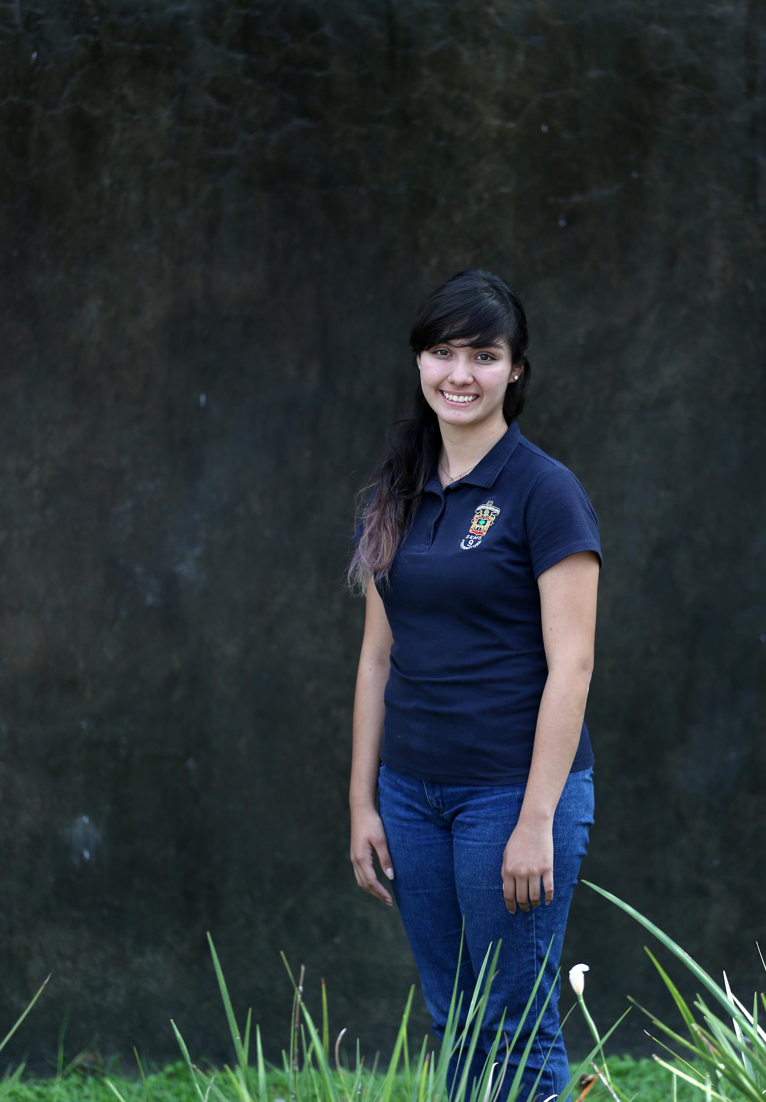 Miriam Daniela Silva Luna - Mexicana realizará su estancia en Le Juvénat Notre-Dame, una escuela en la provincia de Levi, Quebec