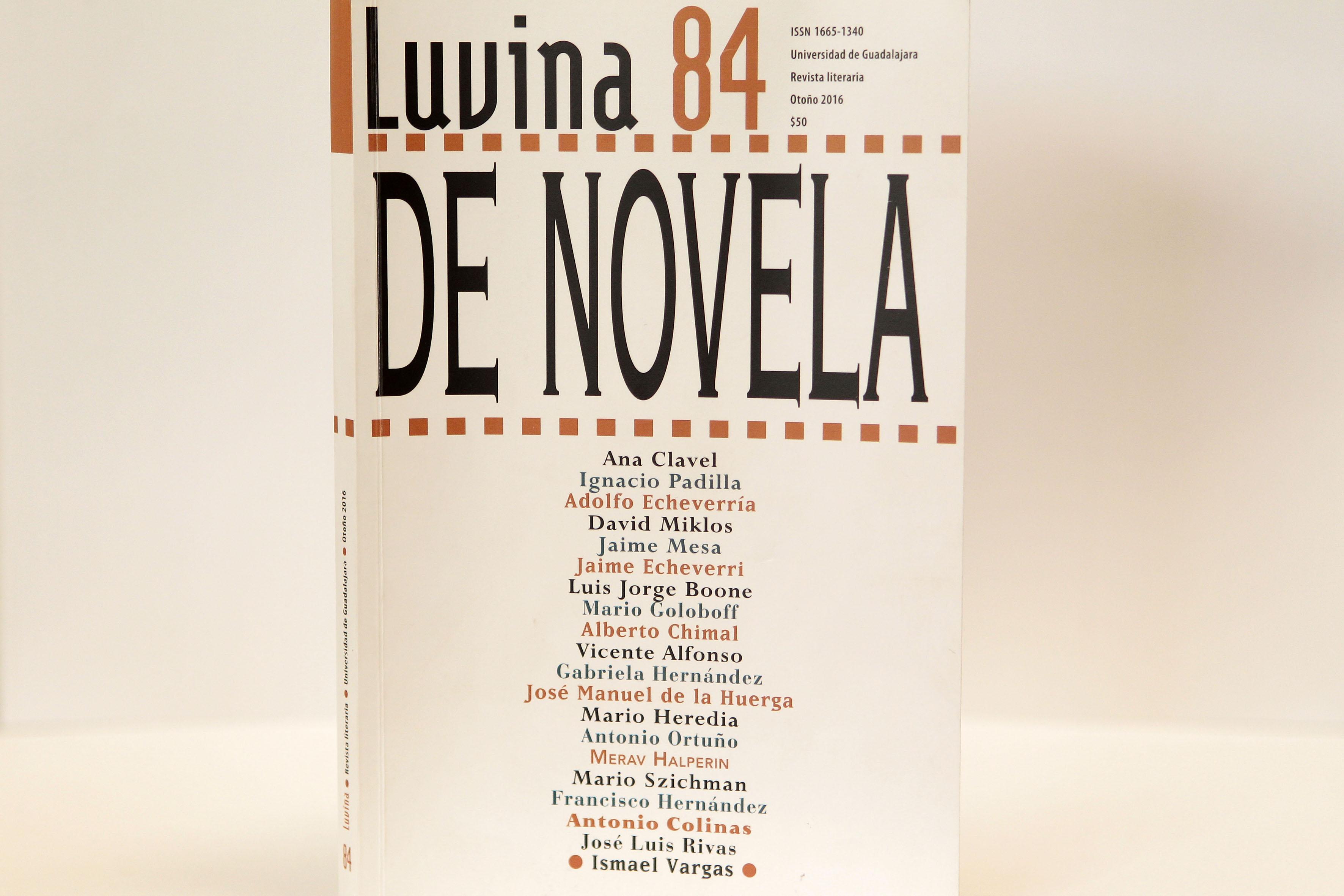 Portada de Luvina número 84