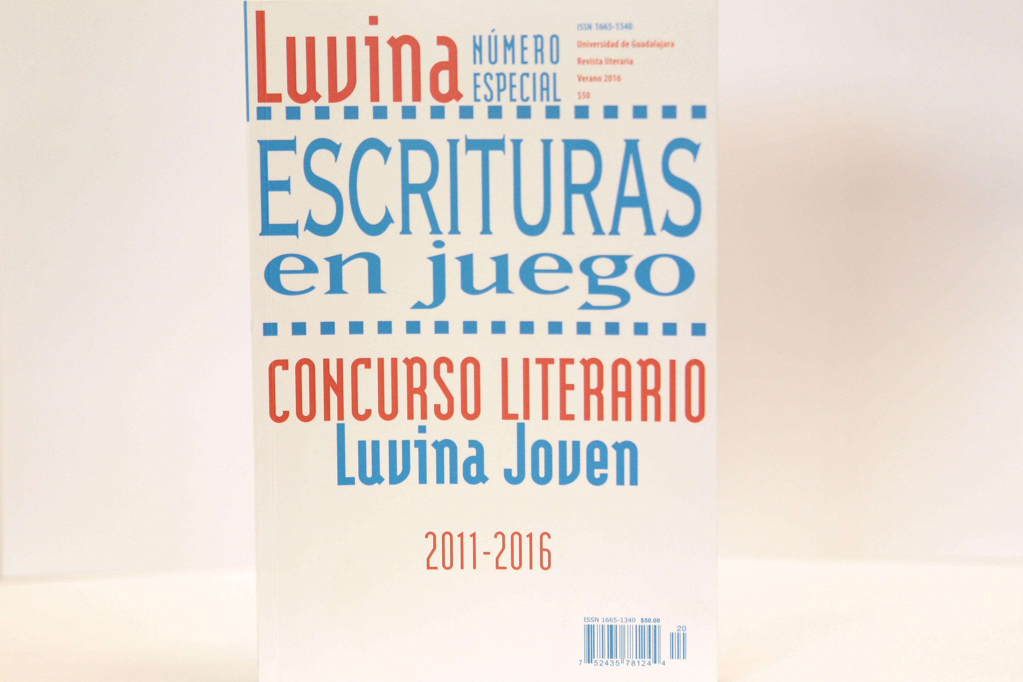 Portada de la edición especial de Luvina, Escrituras en juego