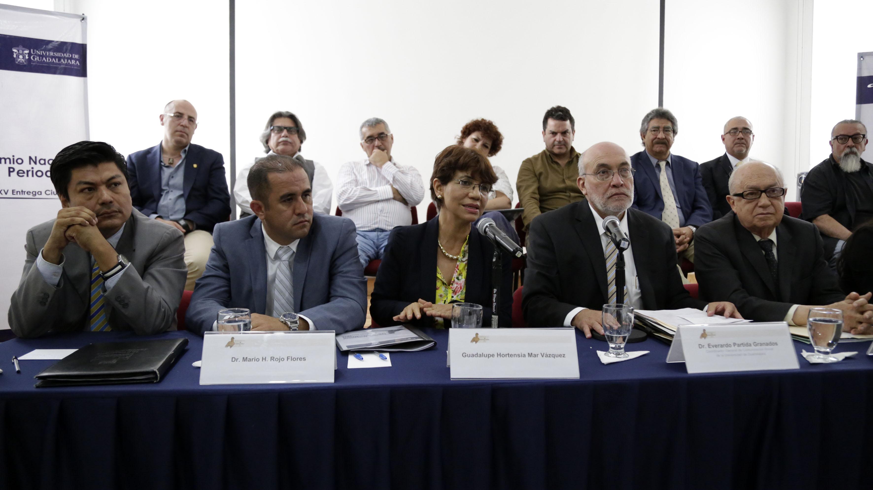 Guadalupe Hortensia Mar Vázquez y Dr. Everardo Partida Granados