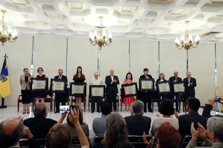 EL Gobierno de Jalisco entregó Premio Jalisco 2019 al trabajo humanístico, cultural y científico en Jalisco
