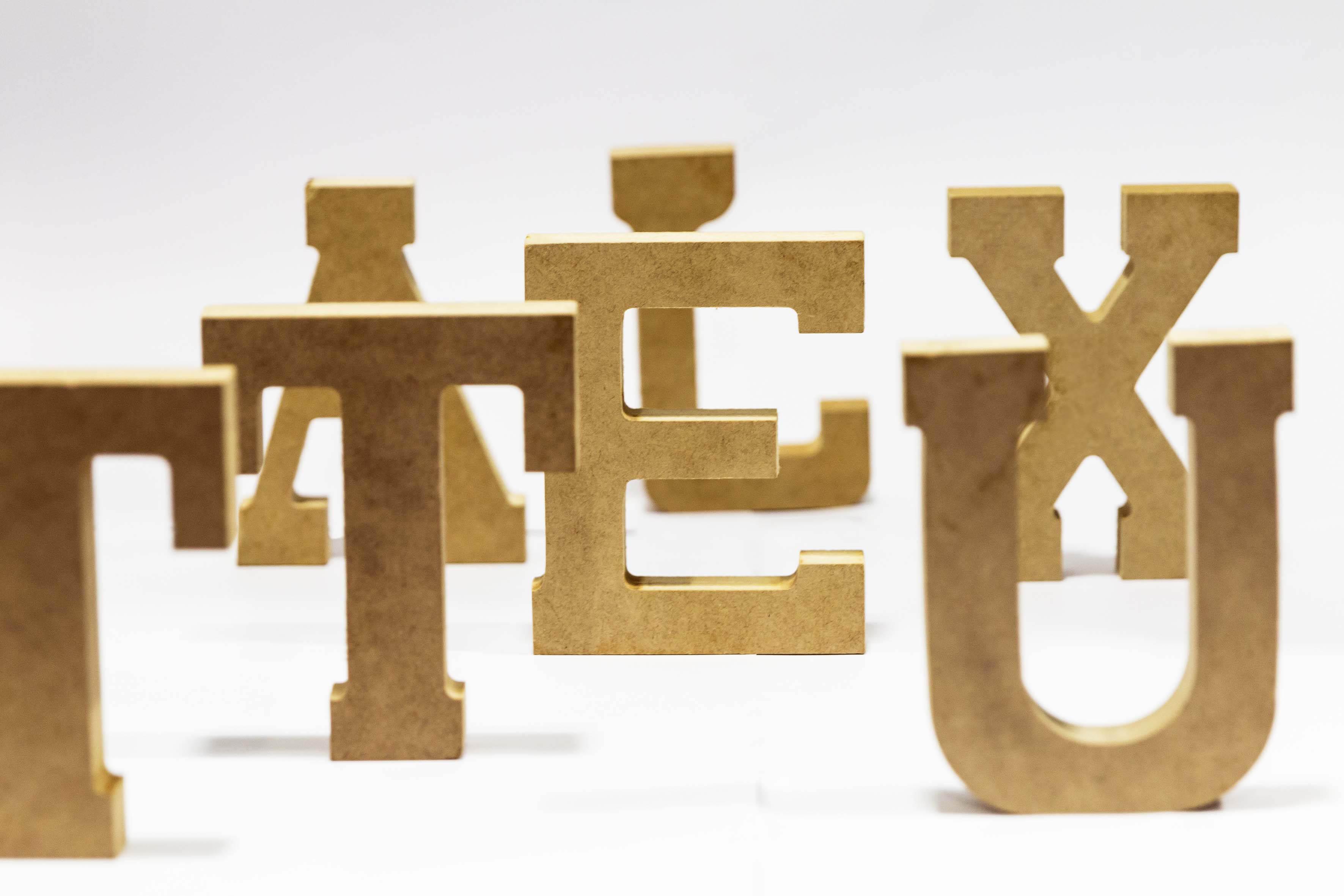 Figuras de letras