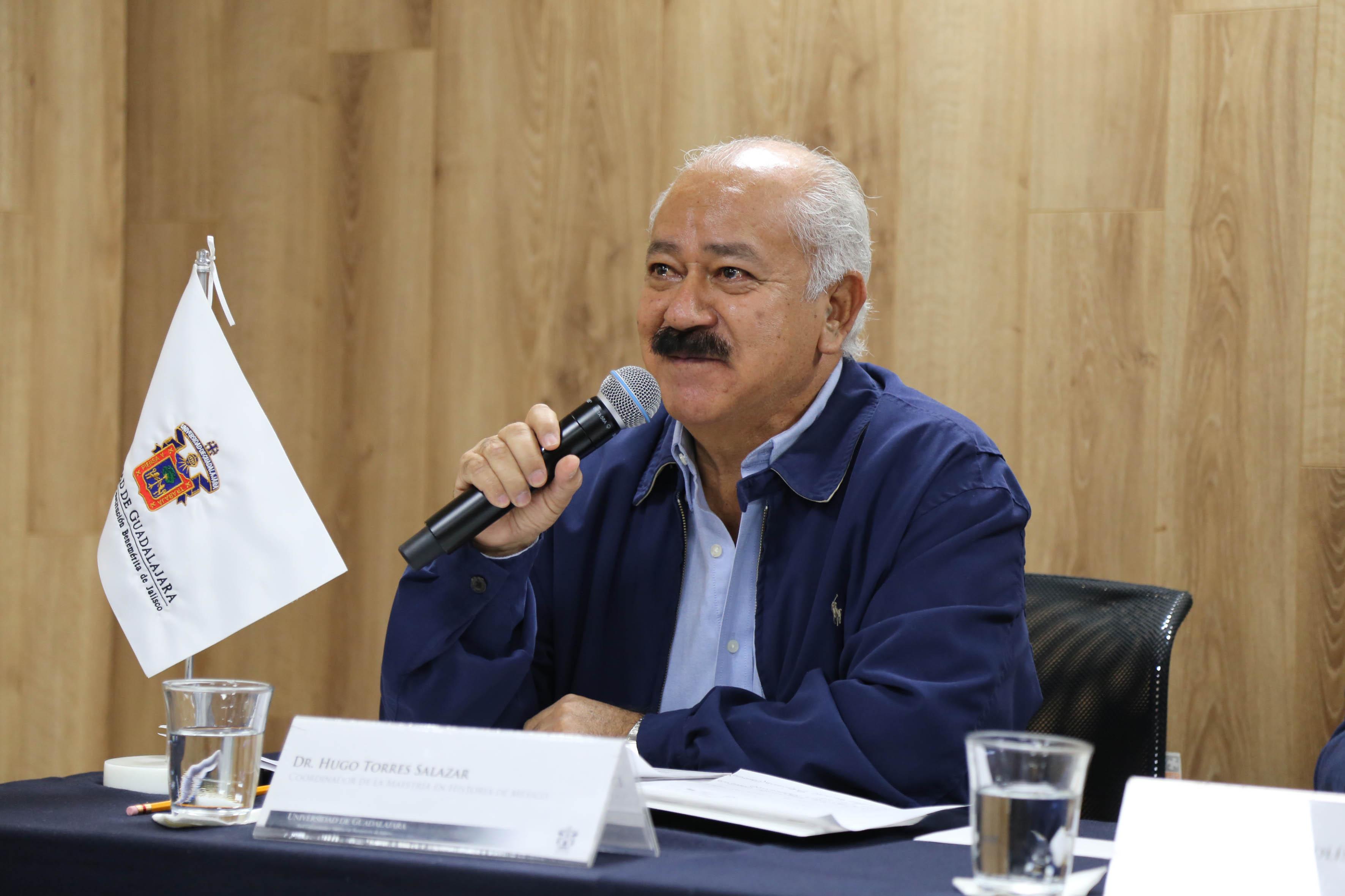 Dr. Hugo Torres Salazar, coordinador de la Maestría en Historia de México
