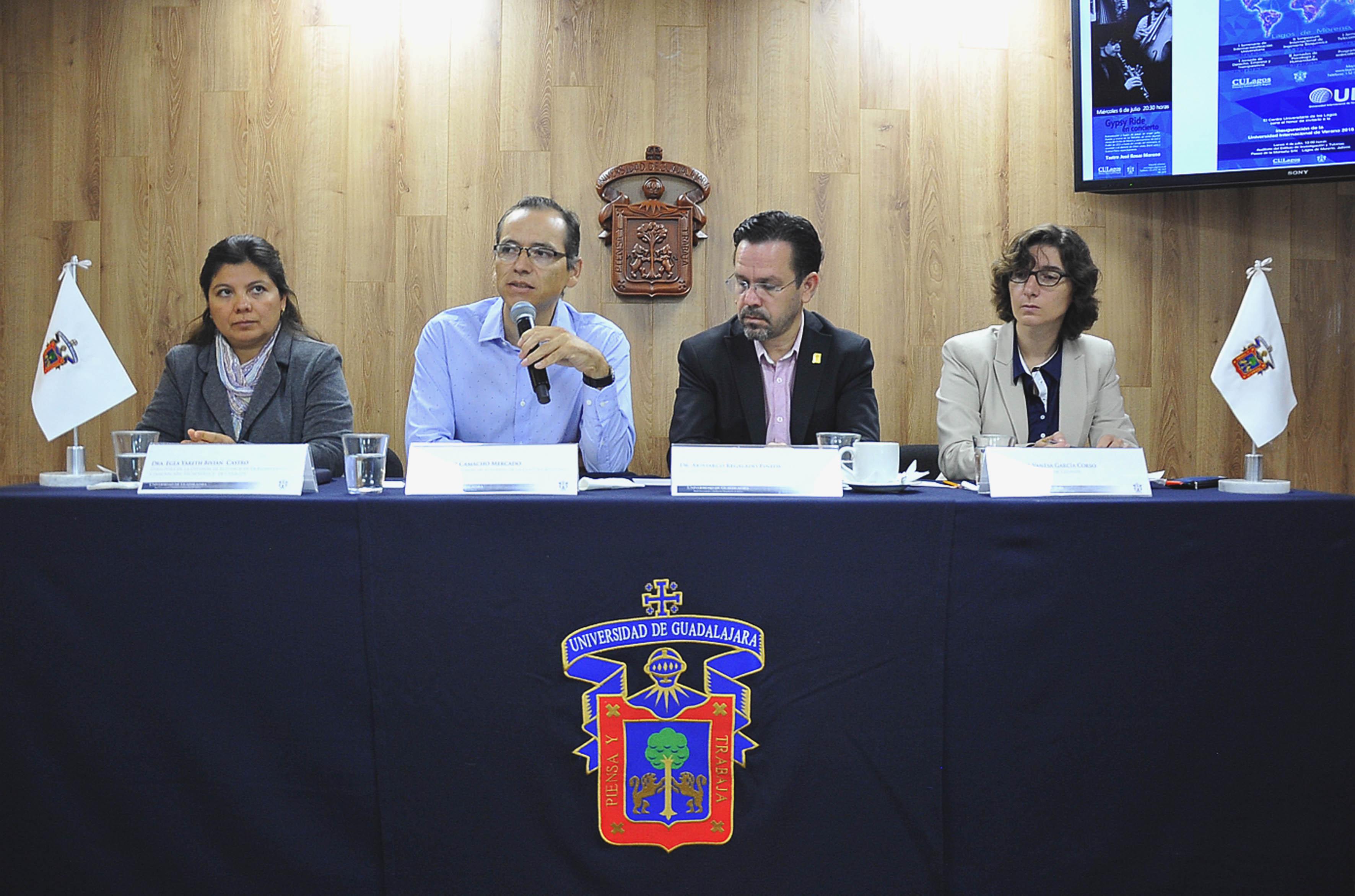 Conferencia de prensa dio a conocer que se realizarán 31 conferencias en el ámbito de las ciencias sociales, 20 en ingenierías