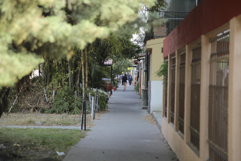Calle de la ciudad de Guadalajara